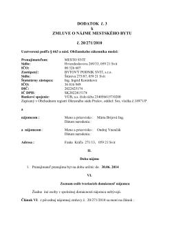 pdf 51 kB - Bytový podnik Svit s. r. o.
