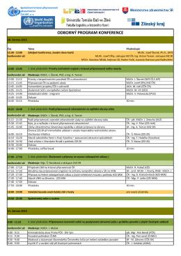 program konference 2015 final - Společnost krizové připravenosti