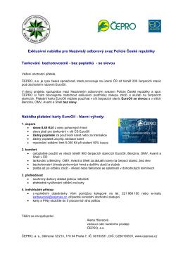 ve formátu pdf. - Nezávislý odborový svaz Policie České republiky