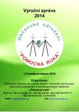 """VZ 2014 A5 814kB - Občanské sdružení """" Pomocná ruka"""""""