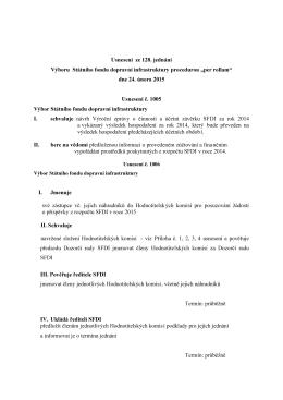 Příloha k usnesení č 1 k1007