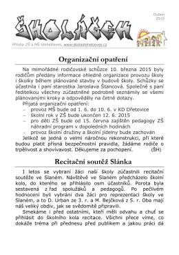 Školáček 04_2015 - Obec Stehelčeves