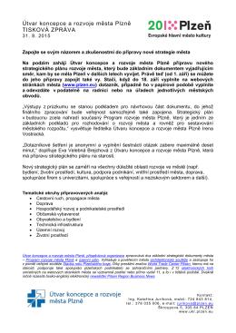 Informace z mimořádného jednání Rady města Plzně, 21