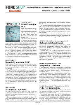 Newsletter FOND SHOP 18-2015