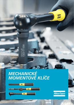 Katalog mechanických klíčů.