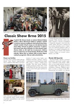 CS-1 - Classic Show Brno 2015