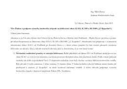 Text žádosti panu hejtmanovi v formátu pdf.