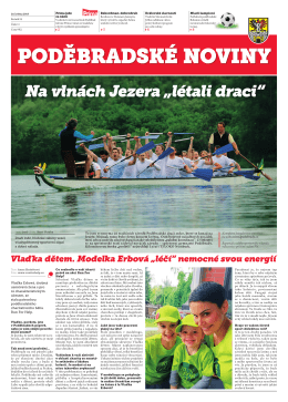 noviny PDF 28.05.15 Poděbradské noviny, ročník 24, Číslo 11