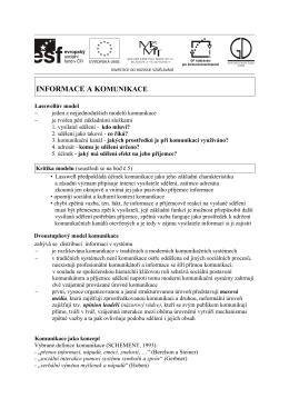 medialni-vychova-03-Informace a komunikace