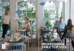 PROFESSIONAL TABLE TOP 2015