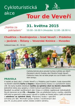 Tour de Veveří - Mikroregion Kahan