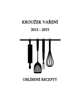 kuchařka oblíbených receptů ke stažení