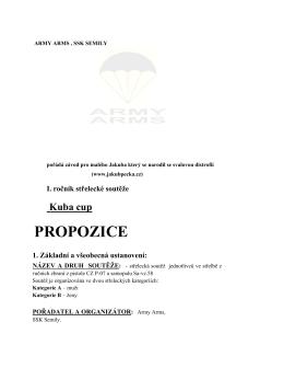PROPOZICE - Jakub Pecka