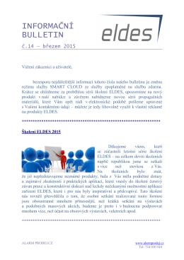 ELDES News 14 - alarm prodej.cz