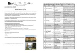 Informační leták projektu - Centrum odborné přípravy technické
