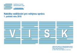 Nabídka vzdělávání pro veřejnou správu 1. pololetí roku 2016