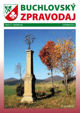 Buchlovský zpravodaj - LISTOPAD 2015