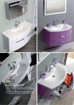 Koupelnový nábytek JULIE