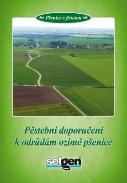 Pěstební doporučení k odrůdám ozimé pšenice 2015