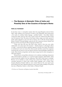 The Banjara - Romano Džaniben