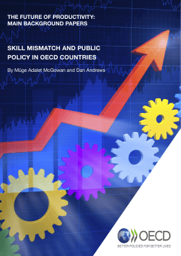 SKILL MISMATCH AND PUBLIC POLICY IN OECD COUNTRIES