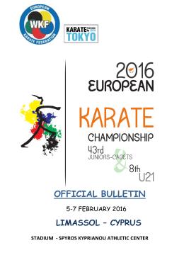 EKF-Championship 2016 Limassol CYPRUS