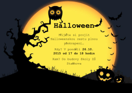 Halloween - Staňkova