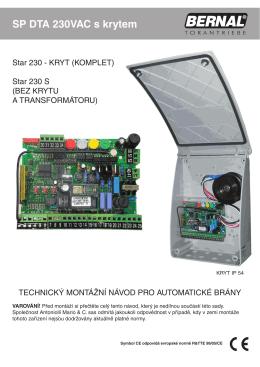 SP DTA 230VAC s krytem