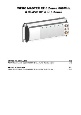 Návod - Bezdrôtová pripájacia lišta 230 V