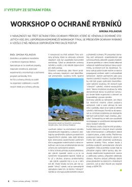 PDF článku ke stažení - Fórum ochrany přírody