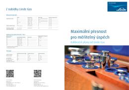 Kalibrační plyny (PDF 845 KB)