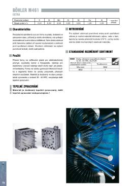 Přesné formy na vstřikování plastů pro elektrotechnický průmysl