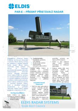 PAR-E Přesný Přistávací Radar