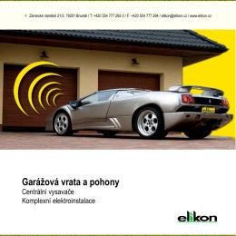 Elikon katalog - Elikon spol. s ro