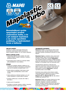 Mapelastic Turbo Mapelastic Turbo
