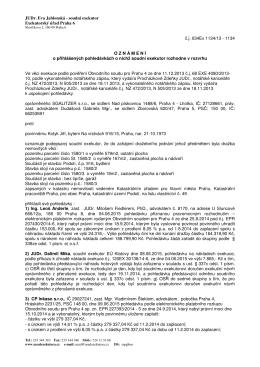 JUDr. Eva Jablonská - soudní exekutor Exekutorský