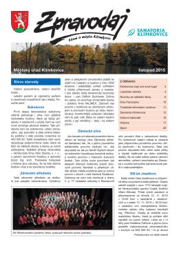 11-2015 - Klimkovice