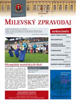 Milevský kulturní kalendář 7-2015