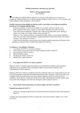 Příbalová informace: informace pro uživatele XGEVA 120