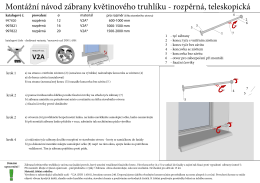 MONTÁŽNÍ NÁVOD - Kovopolotovary.cz