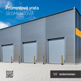 Průmyslová vrata SEGMENTOVÁ