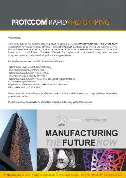 MANUFACTURING FUTURE THE NOW