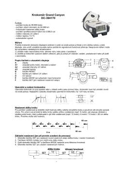 Krokoměr PDC 301