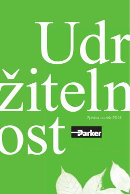 Strategie udržitelnosti Parker 2014