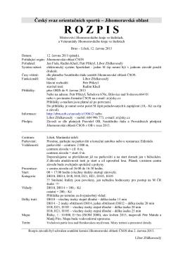 Rozpis v pdf