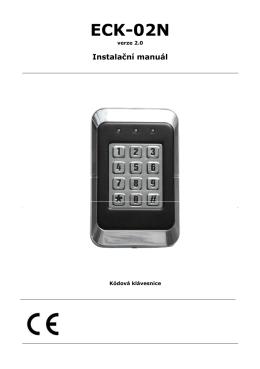 manuál - Domovní telefony a videotelefony
