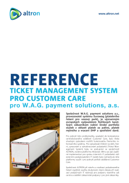 TICKET MANAGEMENT SYSTEM PRO CUSTOMER CARE