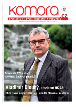 Vladimír Dlouhý, prezident HK oR