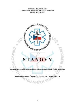 Stanovy KZ ZZS ČR 2015