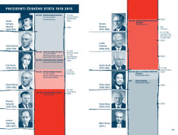 prezideNti česKého státu 1918-2015